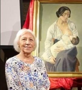 Romana Severini a Cortona per la Mostra Arti Visive