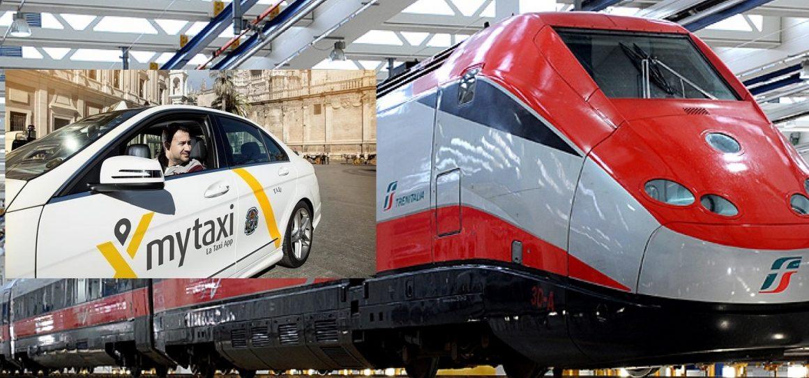 taxi treno 1160x542 - Mytaxi e Trenitalia firmano un accordo sempre più digitale