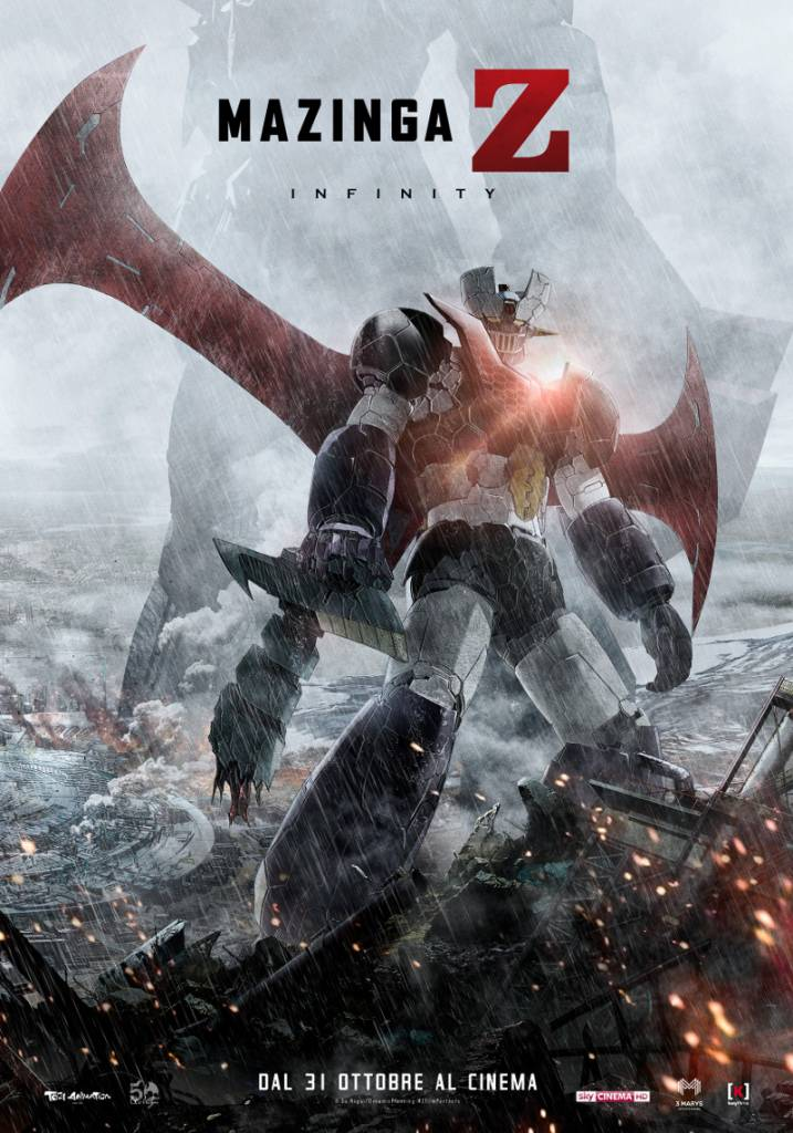 MAZINGA POSTER 717x1024 - Nuovo poster per Mazinga Z Infinity, dal 31 ottobre al cinema