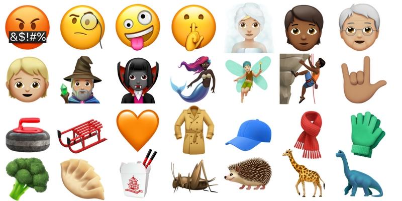 ios 11.1 emoji - iOS 11.1, nuove emoji. Dalla donna che allatta al vampiro