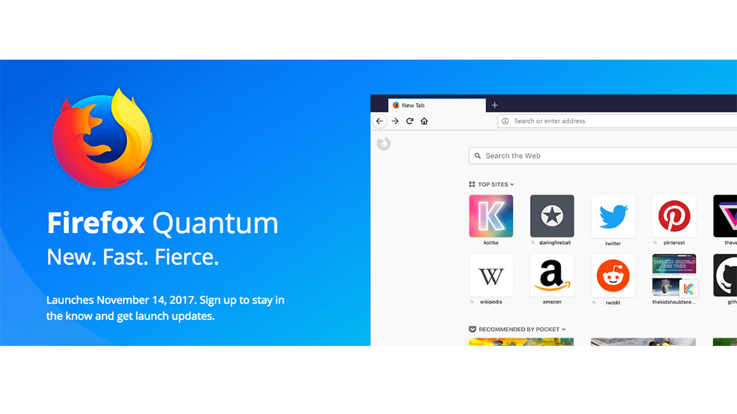 1507108498 quantum - Mozilla Firefox Quantum, cambia il design e diventa più veloce