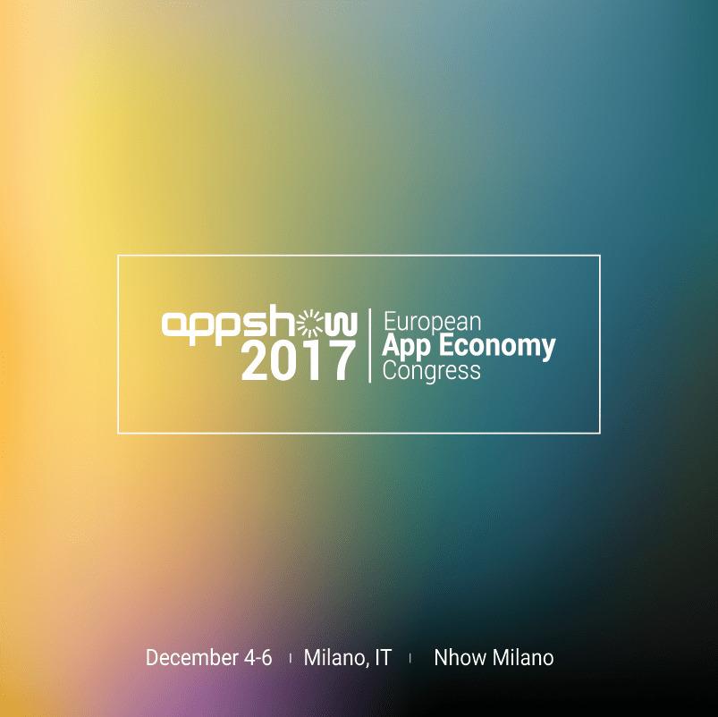 AppShow banner - Il primo evento sull'App economy arriva in Europa  e sceglie l'Italia, Milano