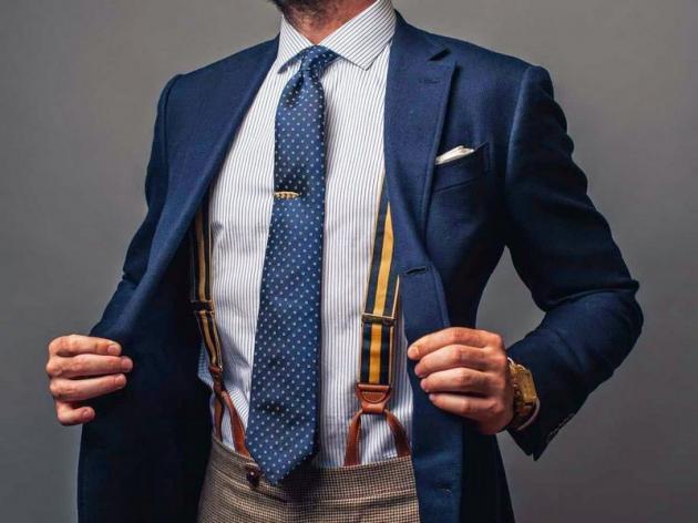 Bretelle uomo alcuni consigli per essere alla moda 4 - Bretelle battono cintura 10 a zero