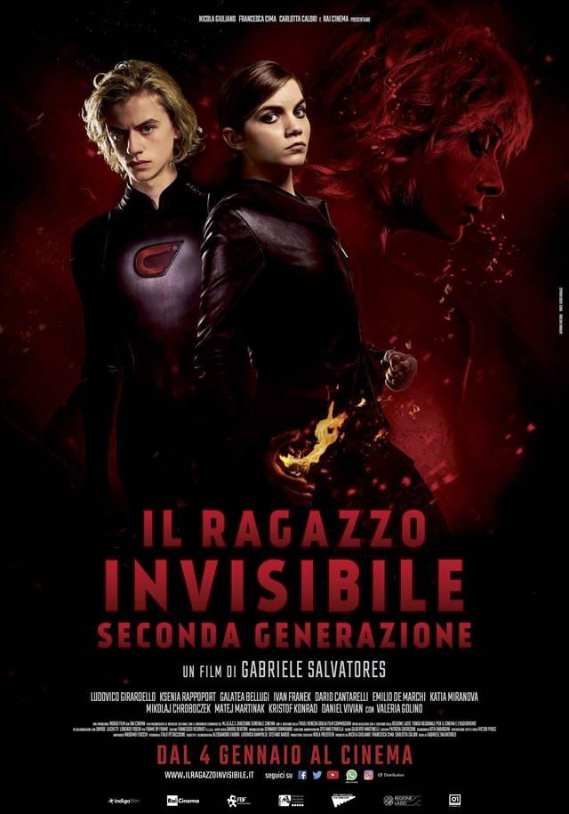 Il Ragazzo Invisibile   Seconda Generazione Poster Italia mid - Nuovo poster per Il Ragazzo Invisibile - Seconda Generazione