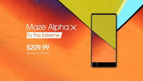 MazeAlphaX - Maze Alpha X, il top di gamma cinese a 179 euro