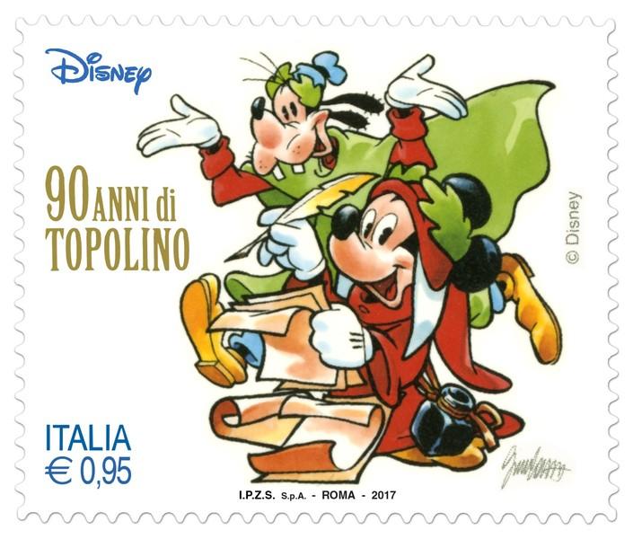 francobollo - Topolino sui francobolli delle poste italiane