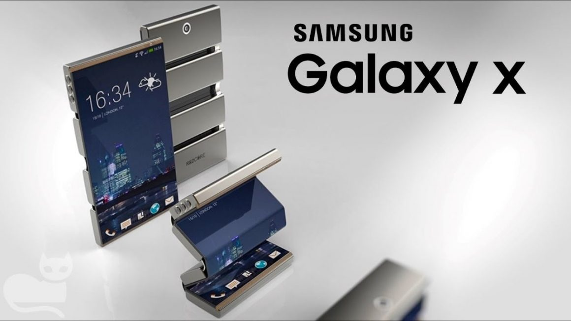 samsung galaxy X 1160x653 - Samsung Galaxy X pieghevole. Debutto al Ces di Las Vegas a gennaio