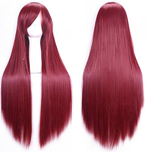 chiguo parrucca da donna 32 80 parrucche lunga rettilineo delle capelli - Il Natale è più rock con EMP