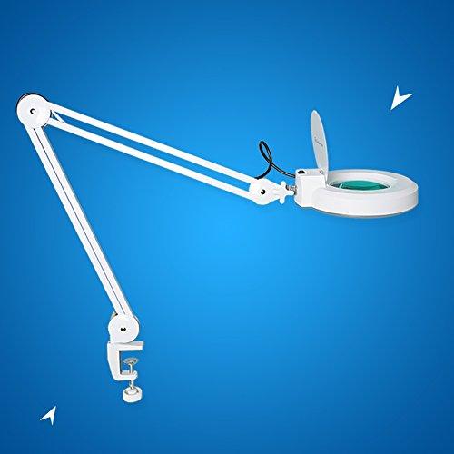 concise home 5 diottrie lampada dingrandimento con luce fredda bianca e - Acquistare con gli occhi si può: anteprima al South Garage di Milano
