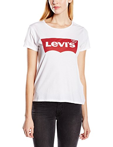 levis the perfect tee t shirt donna bianco batwing white graphic 53 large - MIGLIORI OFFERTE AMAZON MODA DONNA - SCONTI FINO AL 70%