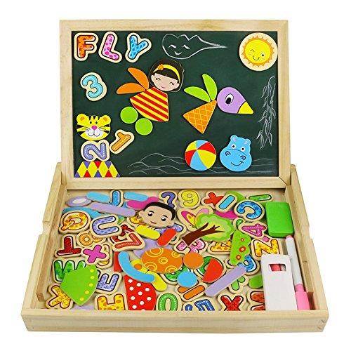 puzzle magnetico legno giocattolo di legno bambini con double face magnetica - Dall'idea creativa al prodotto in vendita: MakeTank e Trotec Laser ne discutono alla Maker Faire Rome