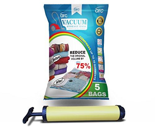 sacchetti sottovuoto arc 100x70 confezione da 5 formato jumbo con pompa - Come conservare il cibo sottovuoto e risparmiare grazie a FoodSaver