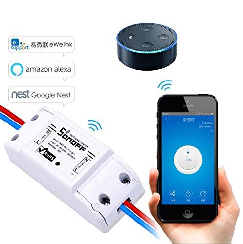 senza fili wifi app controlled fai da te smart switch module support - Come controllare la casa con lo smartphone grazie ai prodotti Somfy