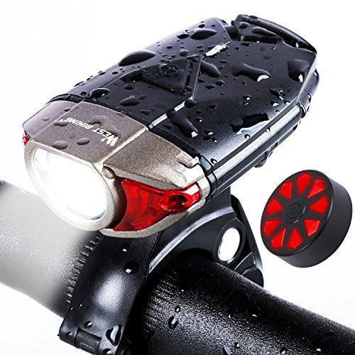 """usb ricaricabile bike light set west biking 300lumen super bright - Smart led projector: """"Soddisfatti o rimborsati"""" con Philips Screneo"""