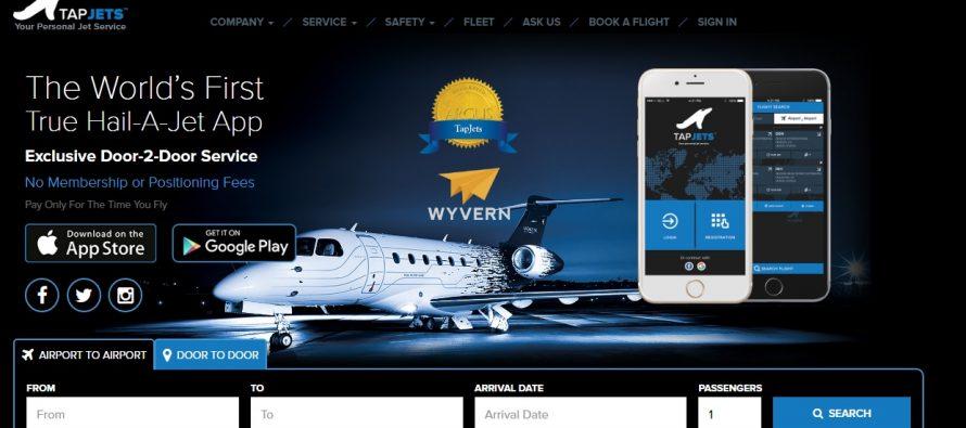TapJets 890x395 - Il jet privato si paga con Bitcoin ed Ethereum
