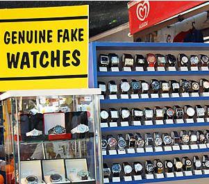genuine fake watches 2 - Orologi contraffatti. Perché è sbagliato acquistarli