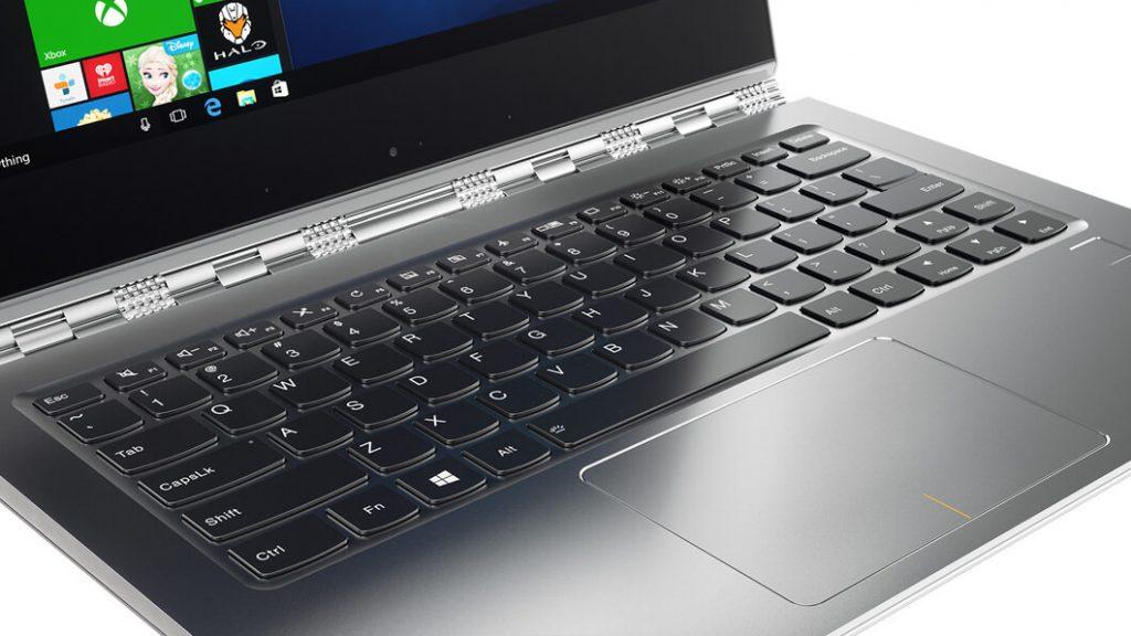 lenovo laptop yoga 910 13 keyboard 15 1024x576 - Il miglior notebook da usare sul posto di lavoro