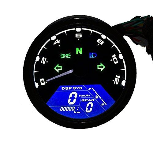 turnraise universale lcd digitale tachimetro montaggio contachilometri - E la velocitá si colora di Rosa: pronti, partenza... VIA!!!