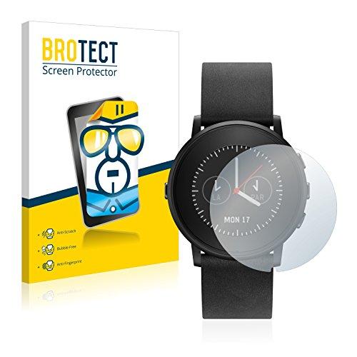 2x brotect pellicola protettiva pebble time round schermo protezione  - Pebble Time Round, il nuovo smartwatch rotondo di Pebble