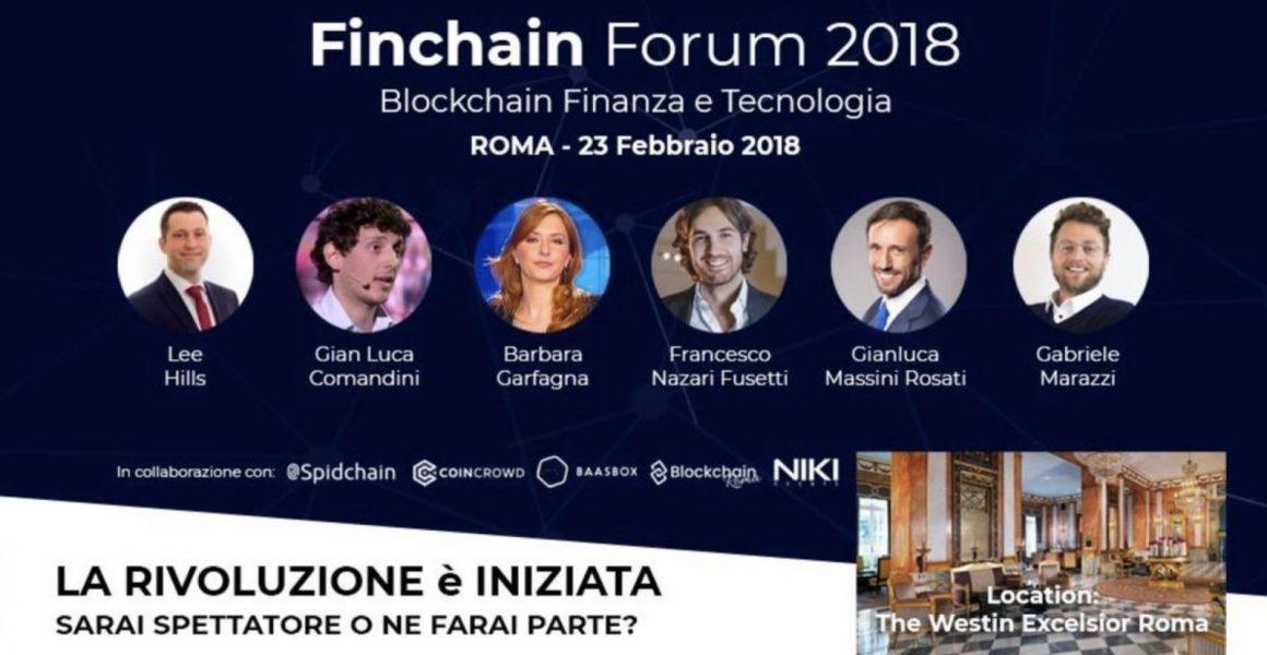 Finchain Forum 2018 con Barbara Carfagna 1160x600 - Finchain Forum 2018 con Barbara Carfagna: oltre 1.000 presenze in sala ed oltre 500 connessi in live streaming