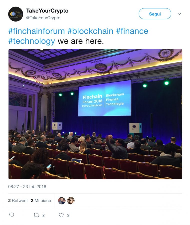 Finchain Forum 2018 con Barbara Carfagna 3 - Finchain Forum 2018 con Barbara Carfagna: oltre 1.000 presenze in sala ed oltre 500 connessi in live streaming
