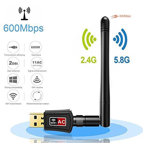 adattatore wi fi dongle wifi mini ricevitore wifi usb adapter ac600mbps dual - La migliore rete wifi parte da un access point D-Link unificato