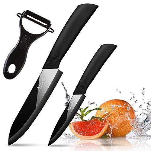 aicok coltelli ceramica set 15 cm coltello ceramica chef 10 cm lama ceramica - Il piatto che assorbe le calorie: nasce AbsorbPlate