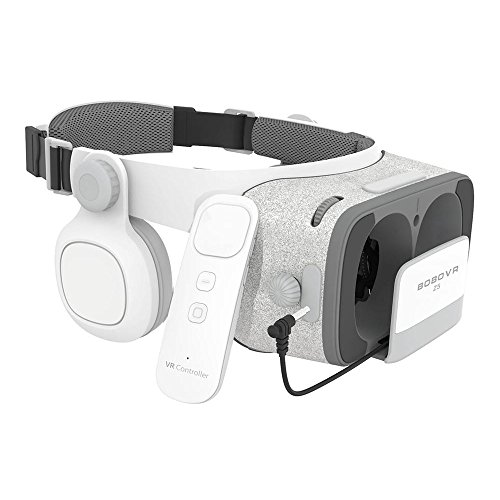 bobovr z5 occhiali visore vr 3d 360 realt virtuale con auricolari daydream - Realtà virtuale: il sogno si avvera con HTC Vive