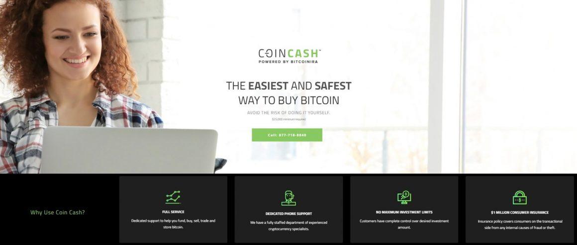 coincash 1160x493 - Coin Cash, il primo servizio completo di acquisto di Bitcoin