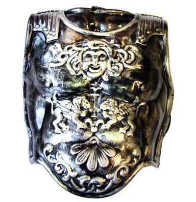 corazza adulto di plastica avanti e dietro armatura soldato romano color ferro - Le armature 2.0 dei soldati del futuro: i Glassoldiers saranno gli occhiali a realtà aumentata per il fronte