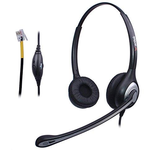 cuffie telefono fisso binaurale con microfono a cancellazione del rumore e - Protezione acustica: cuffie telefoniche Jabra Safetone