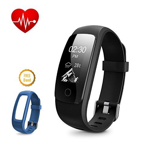 dbpower ip67 fitness tracker per frequenza cardiaca bracciale smart - Il migliore fitness tracker da donna è il nuovo Fitbit Charge HR rosa
