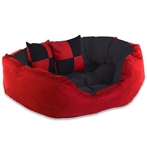 dibea cuscino per cani rossonero 65 x 50 x 20 cm - Come scegliere il materasso in lattice