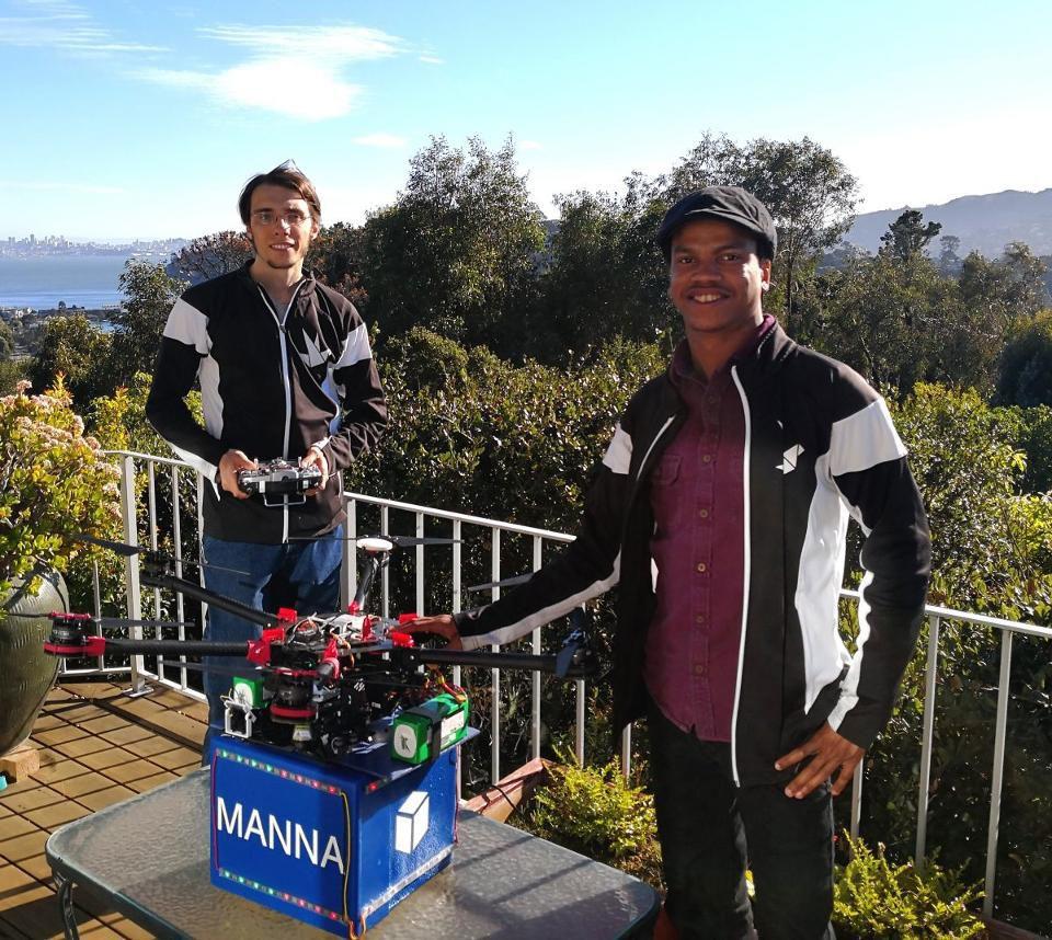 manna - In futuro bancomat di criptovaluta e droni basati su Blockchain