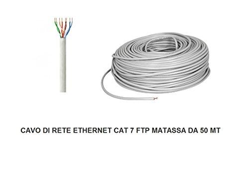 matassa 50 mt metri cavo di rete ftp cat 7 lan ethernet m bobina internet - Migliore connettività domestica con i prodotti FRITZ AVM