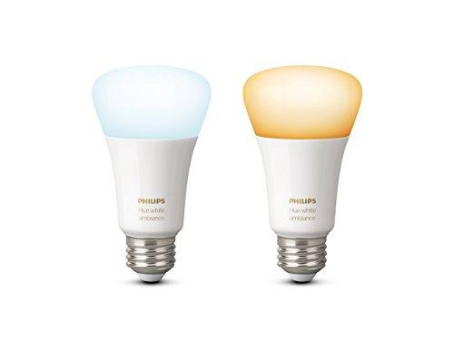 philips hue white ambiance lampadine led attacco e27 95 w 2 pezzi - Philips Hue white la luce adesso è connessa