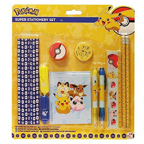 pokemon pok169116set di super stationery set - Minions, Jurassic World e Skylanders: le linee back to school