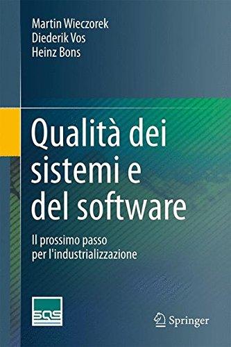 qualit dei sistemi e del software il prossimo passo per lindustrializzazione - Il valore del software di seconda mano