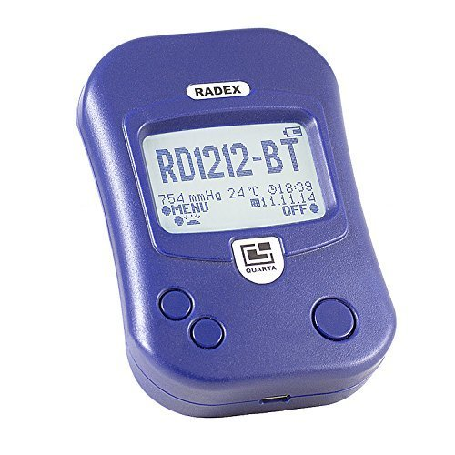 radex rd1212 bt il contatore geiger avanzato con bluetooth - Misurare la radioattività con il contatore Geiger