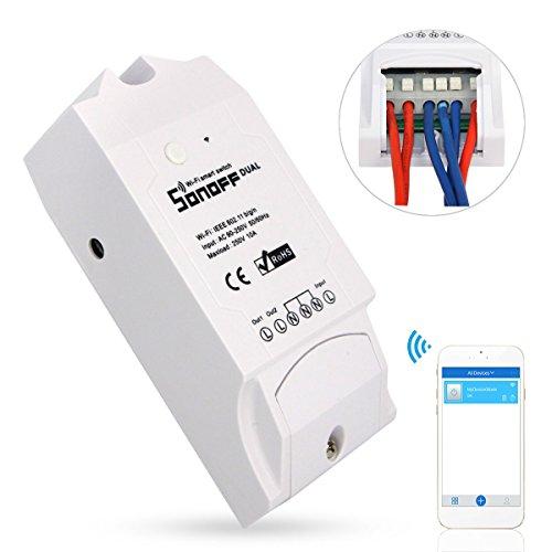 sonoff dual smart switch wifi wireless per casa intelligente controlli due - Come aggiornare iOS: con la versione 7.1 novità anche alla guida