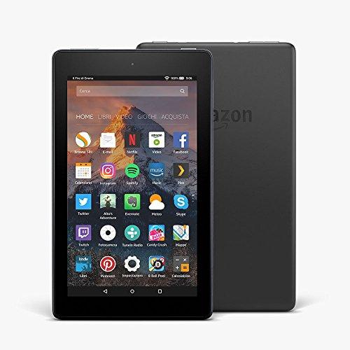 tablet fire 7 schermo da 7 8 gb nero con offerte speciali - Il nuovo Fire tablet amazon ora da 16 Gb