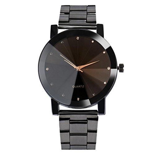 upxiang orologio da polso al quarzo analogico per uomo e donna classico - Smart Tv Oled Fashion con Swarovski: LG a Ifa 2014 batte tutti