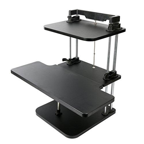 yaekoo standing desk hub sit stand desk 2 tier regolabile a piacere pro - Se vuoi leggere oltre 100.000 libri pagando solo 7,60 euro Oyster è disponibile anche per ipad