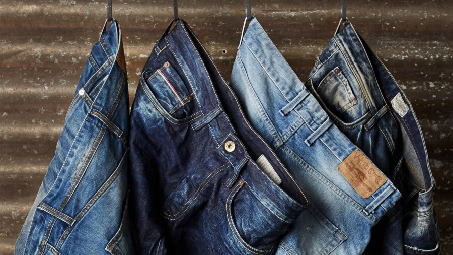 Different styles of blue jeans 900x506 - The Denim Jeans Guide