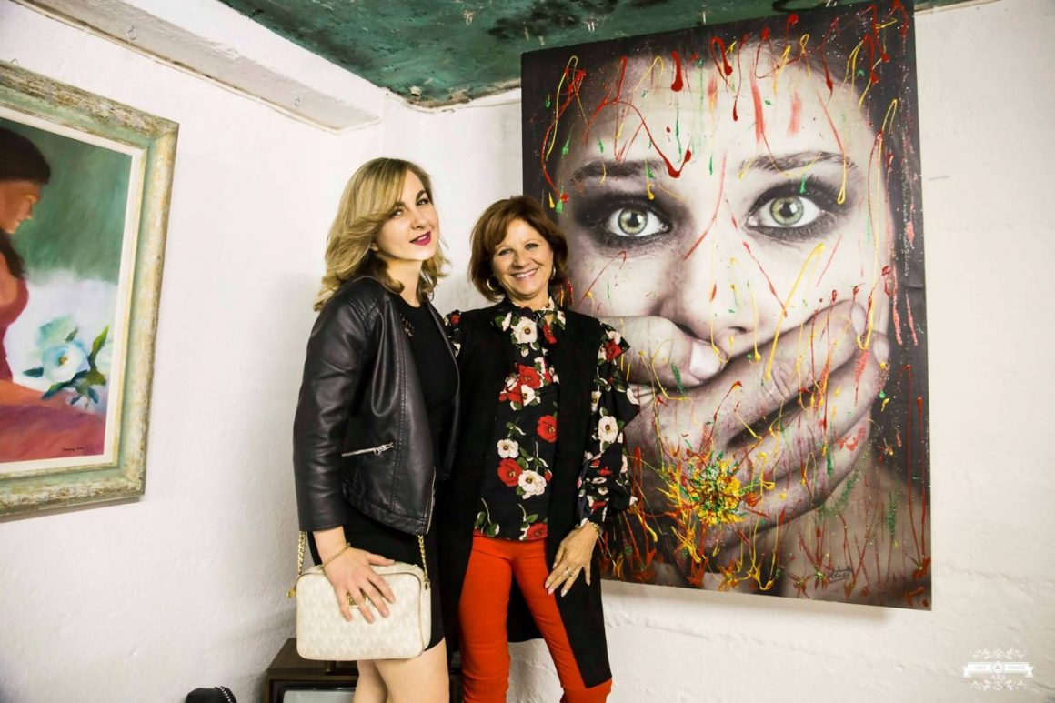 """damars 1160x773 - La mostra """"La donna nell'arte"""" combatte anche il cyberbullismo"""