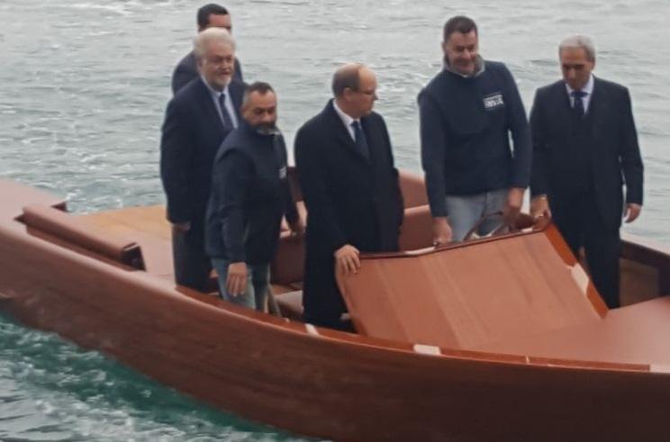 ernesto barca2 - La nuova barca elettrica del Cantiere Ernesto Riva premiata a Monte Carlo