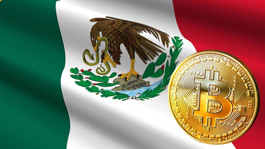 mexican flag bitcoin 1 - Il Governo messicano approva la regolamentazione delle criptovalute