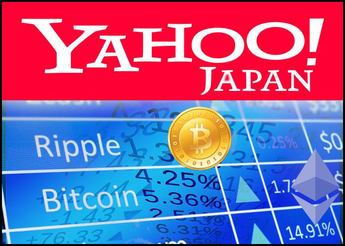 yahoojapan - Yahoo Japan pronto a lanciare un Exchange di criptovalute l'anno prossimo