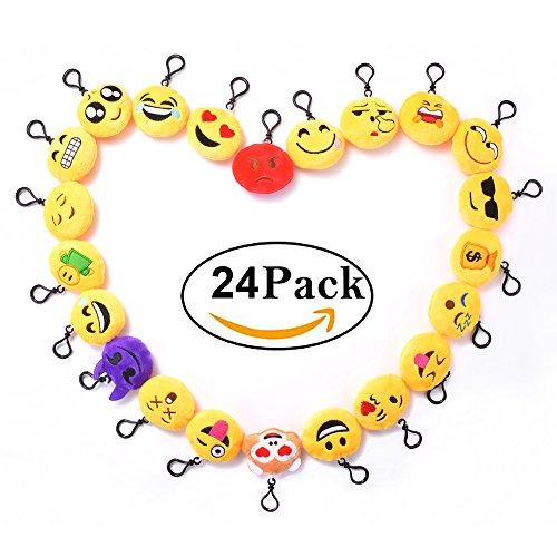 24 pezzi mini portachiavi emoji faccine portachiavi emoticon pi usate su - La applicazione più usata su internet è la chat che tra poco sbarcherà anche su Instagram