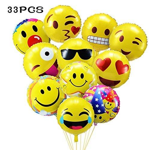 33 pz palloncini colorati emoji emoticon per party compleanni matrimoni - Le novità e le funzioni in anteprima di iOS 7 la nuova anima di iPhone